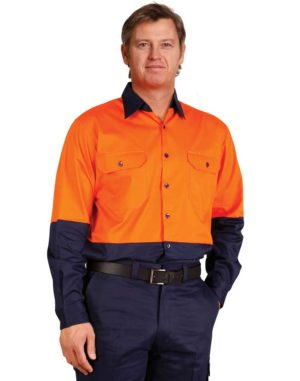 SW58 long sleeve work shirt | Hat Factory